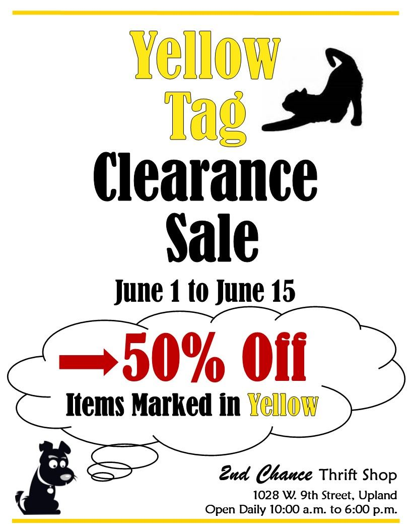 Friends of Upland Animal Shelter - 2nd Chance Thrift Shop
